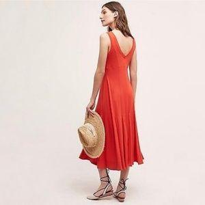 Anthro Maeve Abroad Swing Dress